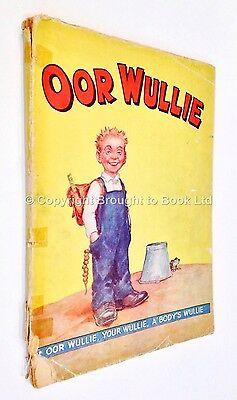 Oor Wullie Annual 1943 - DC Thomson Book Number 2
