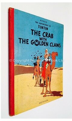 The Adventures Of Tintin - The Crab with the Golden Claws - Herge Methuen 1958