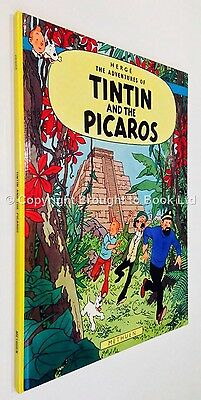 The Adventures of Tintin - Tintin and the Picaros Herge Methuen First Edition