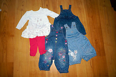 Baby Girl Clothes Dress Bundle - 3 to 6 Months - Next Mothercare and Others