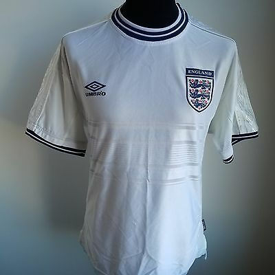 England 1999 Home Football Shirt Umbro Jersey Size Adult L