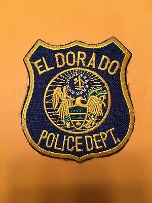 El Dorado Arkansas  Police  Small Shoulder Patch