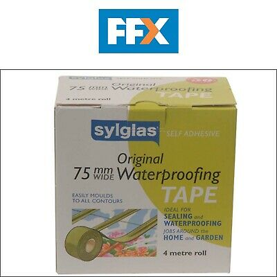Sylglas SYLWT50 Waterproofing Tape 50mm x 4m