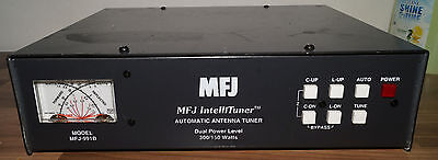 MFJ-991B INTELLITUNER , DUAL POWER AUTOMATIC ANTENNA TUNER 1.8-30 MHz
