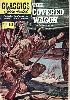 Vintage Comic Book, The Covered Wagon