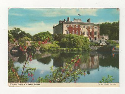 Westport House Co Mayo Ireland 1974 Postcard 886a