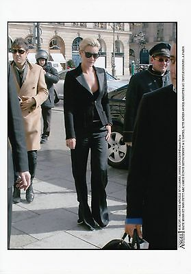 Kate Moss Paparazzi Candid Ritz Paris mars 2009 Original Vintage