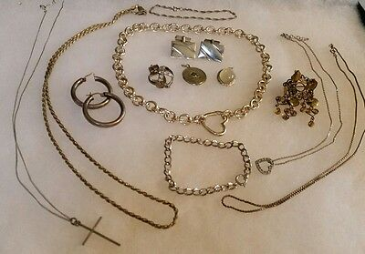 130 Grams Sterling Silver Jewelry Wear And Scrap Free Shipping