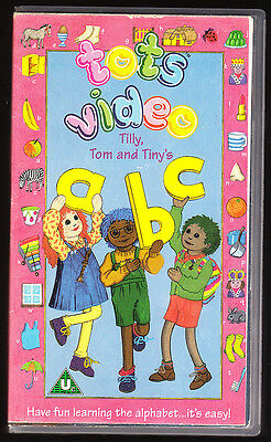 Tots Tv - Tilly, Tom And Tiny's Abc - Vhs Pal (Uk) Video