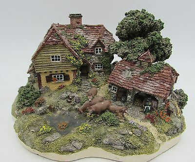 Danbury Mint THE DAIRY FARM Country Village Collection by Jane Hart Miniature