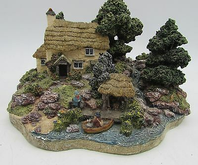 Danbury Mint THE GAMEKEEPER'S COTTAGE Country Village Collection by Jane Hart