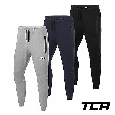 Men's TCA Revolution Tapered Running Tack Pant with Zip Pockets