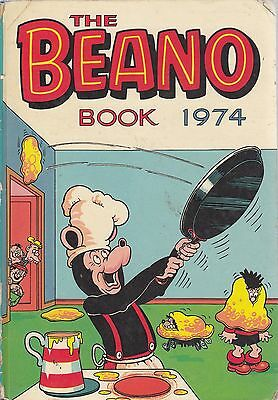 The Beano Book 1974 - D C  Thomson - Acceptable - Hardcover