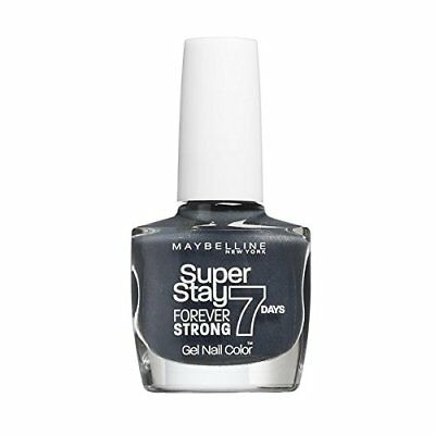 Maybelline Superstay 7 Days Forever Strong Gel Nail Polish Couture Grey 800