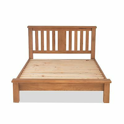 Galway solid oak bedroom furniture 3' single low end bed