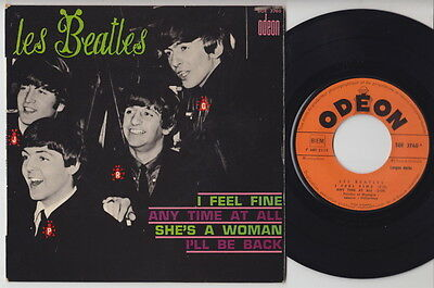 The BEATLES * I Feel Fine * 1965 French EP *