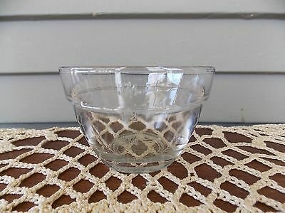 The Pampered Chef Clear Glass Measuring Cup Prep Bowl  3/4 Cup 175 ml