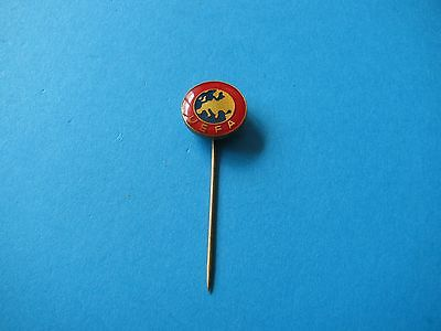 UEFA Football Stick pin badge. VGC.