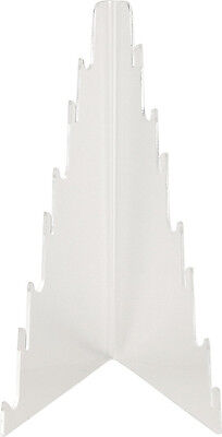 Displays Seven Tier Knife Display KNF12 Clear acrylic construction. Stands 12 1/