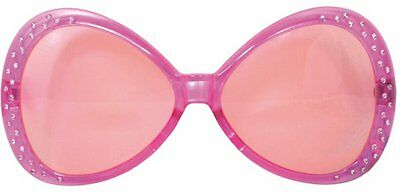 Party Glasses Diamond Frame Pink Accessory Photo Booth Fancy Dress