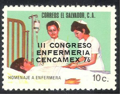 El Salvador 1976 Nurses' Congress/Nursing/Medical/Health/Welfare 1v o/p (n43153)