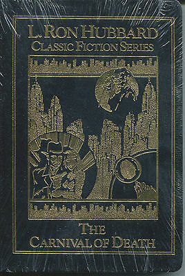 The Carnival of Death-L. Ron Hubbard-Popular Detective Stories-Leatherbound Ed.