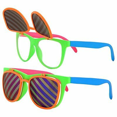 Party Glasses Multi Coloured Accessory Photo Booth Fancy Dress