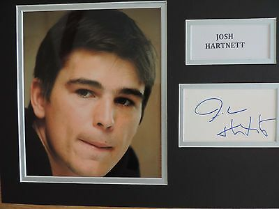 Josh Hartnett - Black Hawk Down - Pearl Harbour - Superb Signed Display - Coa