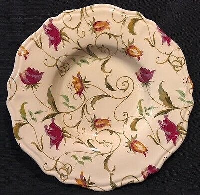 """16"""" CIC 101 Certified International Corporation Italy Floral Pasta Serving Bowl"""