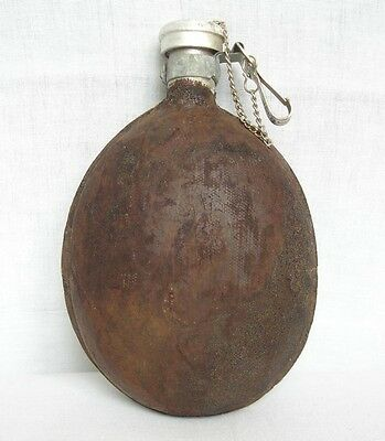 Ww2 Bulgarian Soldier's Water Canteen Flask