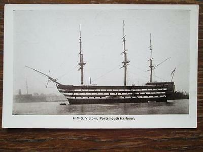 H. M. S. VICTORY, PORTSMOUTH HARBOUR - GALE & POLDEN (c1910)