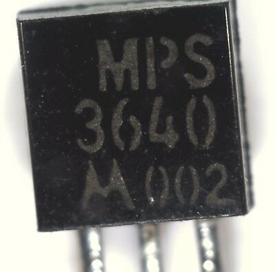pack of 5 Motorola MPS3640 PNP transistor