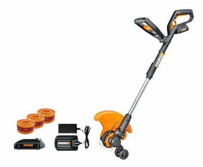 WORX WG160.4 GT 20V PowerShare Cordless 4.0 ah String Trimmer/Edger/Mini Mower