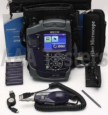 JDSU OLP-82P SM MM Power Meter Fiber Inspection Kit w/ P5000i Fiberscope OLP 82P