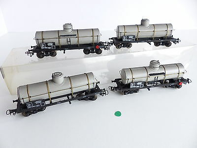 Train Rousseau Lot De 4 Wagons Citerne A Bogies De La Sncf