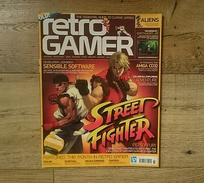 RETRO GAMER MAGAZINE - ISSUE # 33 - Includes STREET FIGHTER Feature