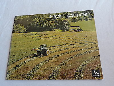 JOHN DEERE TRACTOR HAYING EQUIPMENT BROCHURE DELUXE 2270 HYDROSTATIC free ship
