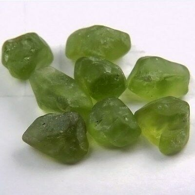 Hand Selected Arizona Peridot Facet Rough 39.67ct GLI
