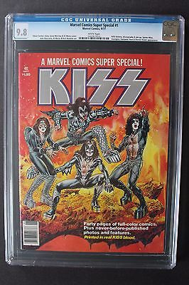 Marvel Comics Super Special #1 1st Solo KISS comic REAL BLOOD 1977 CGC NM/MT 9.8
