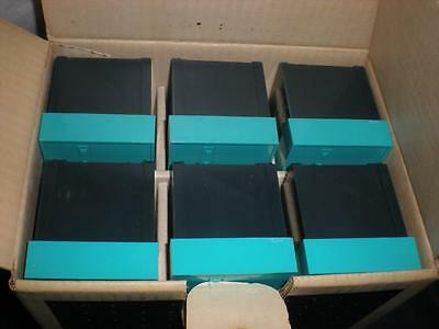 6 Bell Howell SlideMaster Trays with Cardboard File Box