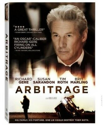 Arbitrage [New DVD] Ac-3/Dolby Digital, Dolby, Subtitled, Widescreen