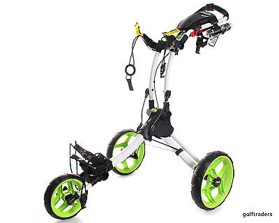 Clicgear Rovic Buggy Rv1C - Arctic  / Lime - New -  #d5692