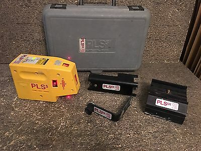 PLS Pacific Laser Systems PLS 5 Laser Level Tool, Yellow