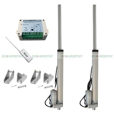 """2 Set 12V 14"""" Linear Actuators W/ Wireless Controller for Developing Machine"""