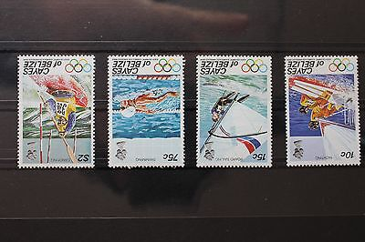 Cayes of Belize 14-17 ** postfrisch, Olympia Los Angeles 1984 -RH943