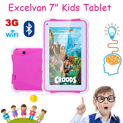 "7"" Zoll Kinder Tablet PC Android 4.4 Quad Core 3G WIFI Dual kamera 8GB Rosa"