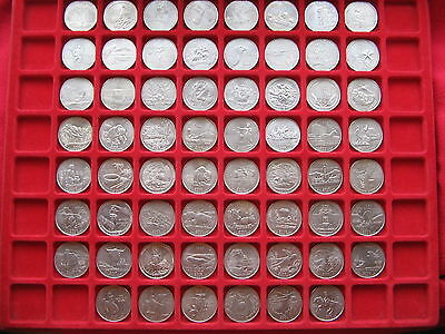 Superb collection of 62 different USA US STATE Quarter dollar coins Free UK post