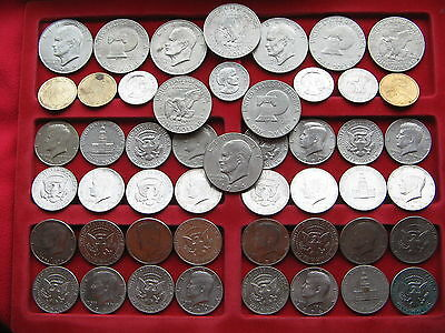 Superb collection of $32 USA  dollars & Half Dollar coins Free UK post