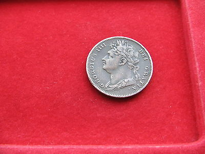 Tidy 1822 King George Iv Copper Farthing Free Uk Post