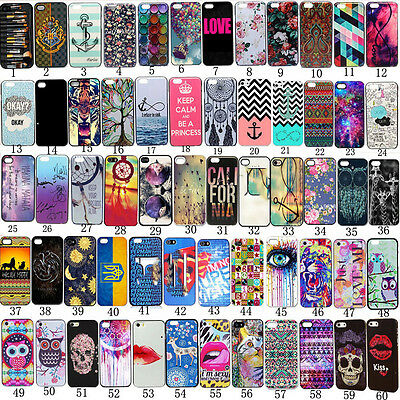New Soft TPU Patterned Fundas Carcasa Cover Case Protejer For iPhone 6 7 Plus